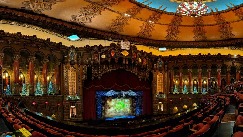 Seating view for The Fabulous Fox Theatre (St. Louis) Section Mezzanine 3 Row DD Seat 9