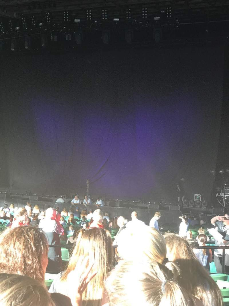 Xfinity Center, section: 6, row: L, seat: 9