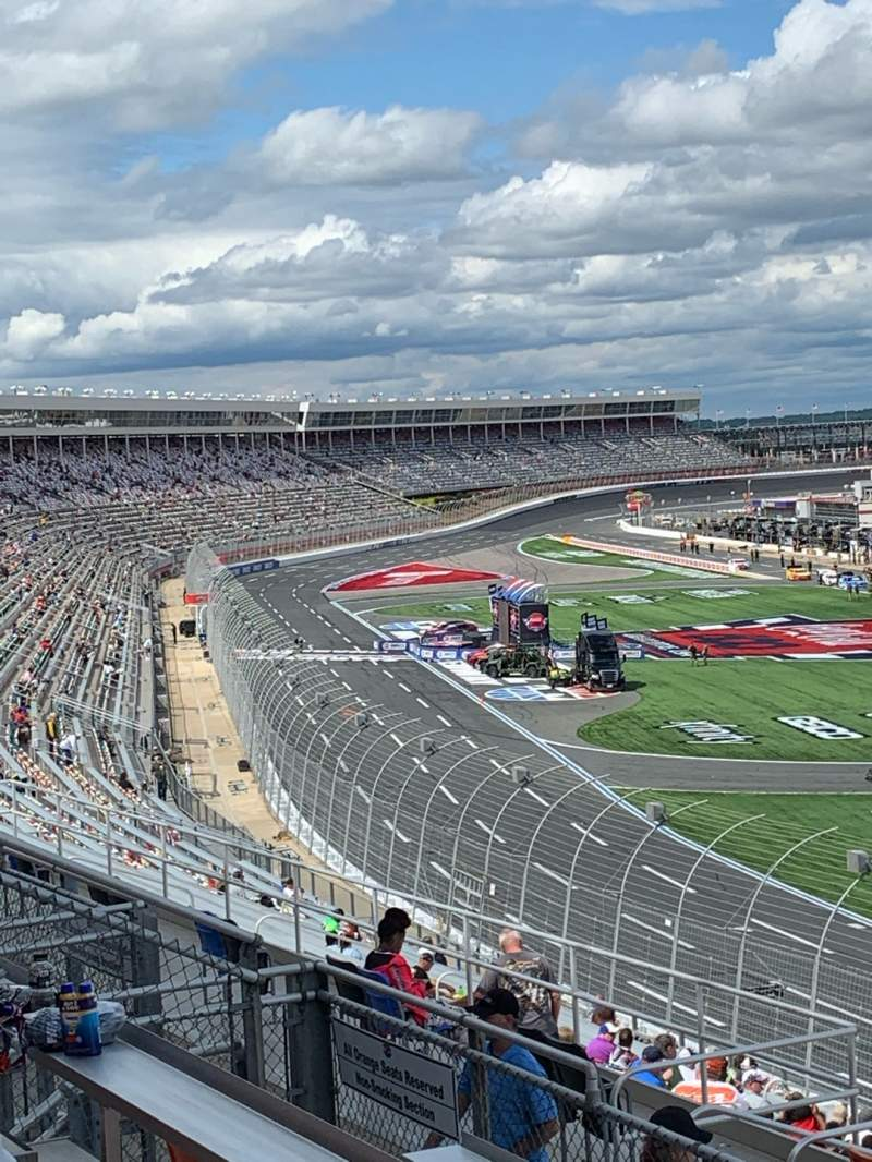 Seating view for Charlotte Motor Speedway Section New Ver F Row 32 Seat 16