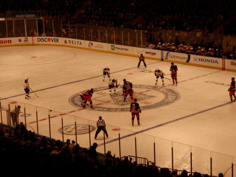 Seating view for Madison Square Garden Section 303 Row H Seat 2