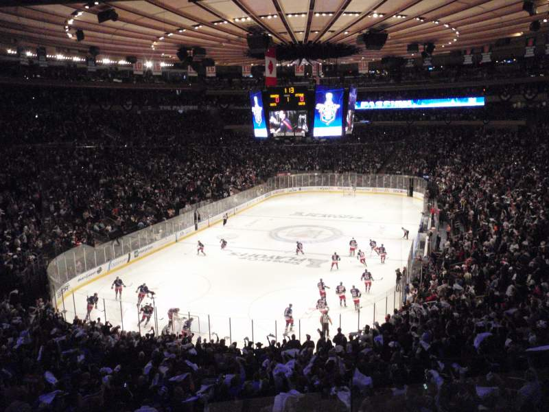 Madison Square Garden Section 344 Row 2 Seat 10 New