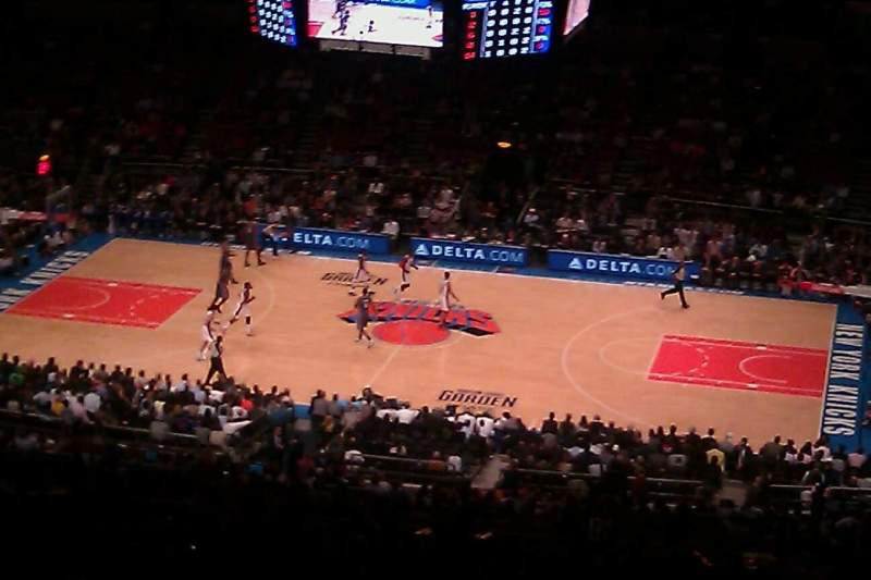 Seating view for Madison Square Garden Section 225