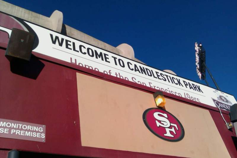 Seating view for Candlestick Park