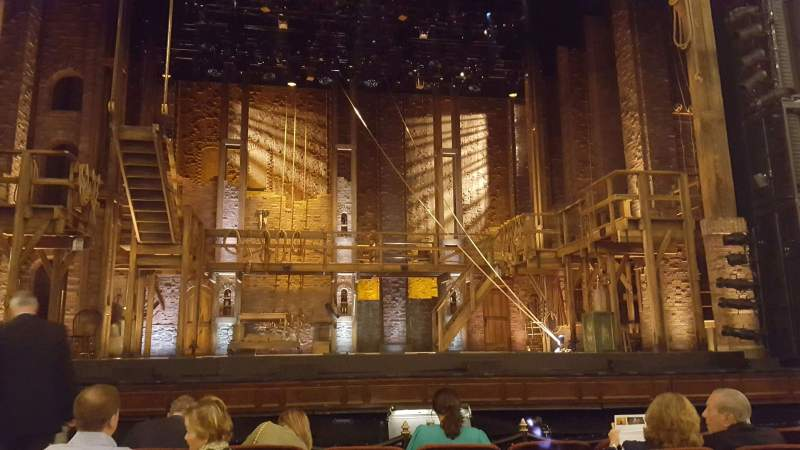 Seating view for Citizens Bank Opera House Section Orch Ctr Row B Seat 109
