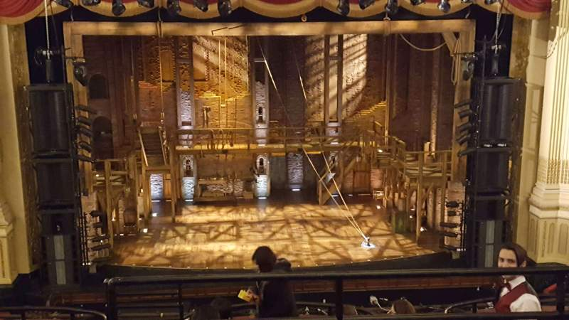 Seating view for Citizens Bank Opera House Section MEZZLC Row C Seat 105