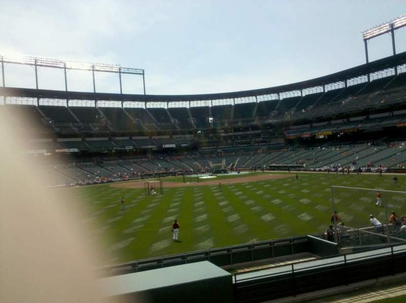 Seating view for Oriole Park at Camden Yards Section 86