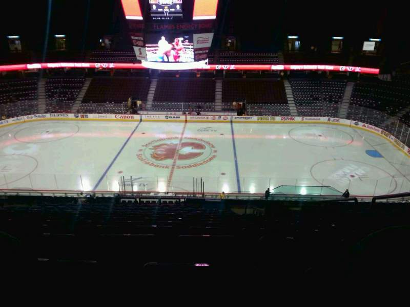 Seating view for Scotiabank Saddledome Section 226 Row 20 Seat 20