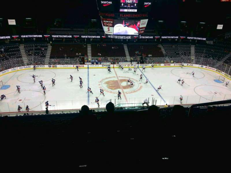 Seating view for Scotiabank Saddledome Section 225 Row 20 Seat 20