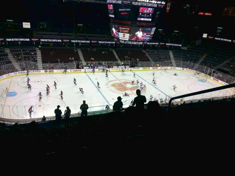 Seating view for Scotiabank Saddledome Section 224 Row 20 Seat 20