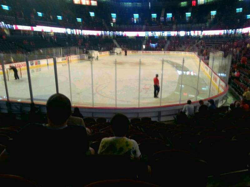 Scotiabank Saddledome, section: 105, row: 11, seat: 11