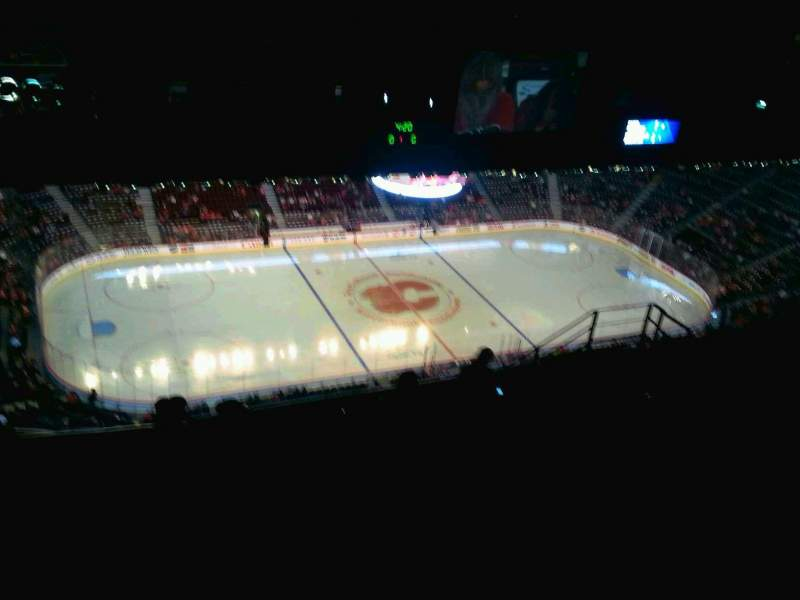Seating view for Scotiabank Saddledome Section PL7 Row 13 Seat 4