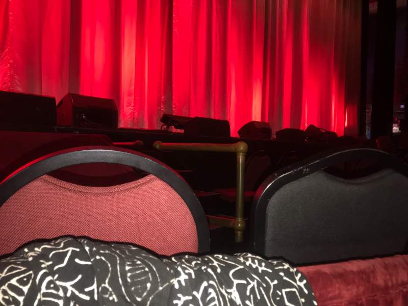 Seating view for Chicago Theatre Section MNFL3L Row AA Seat 305