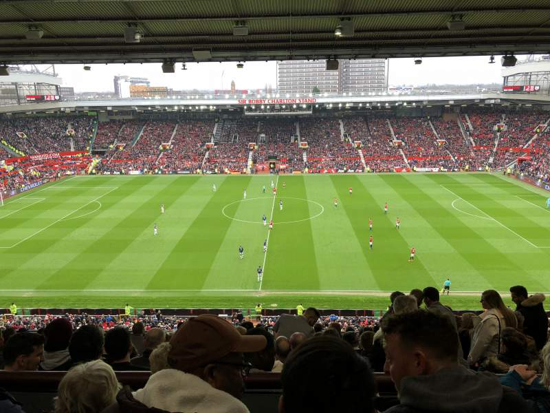 Old Trafford, section: N3405, row: 16, seat: 113