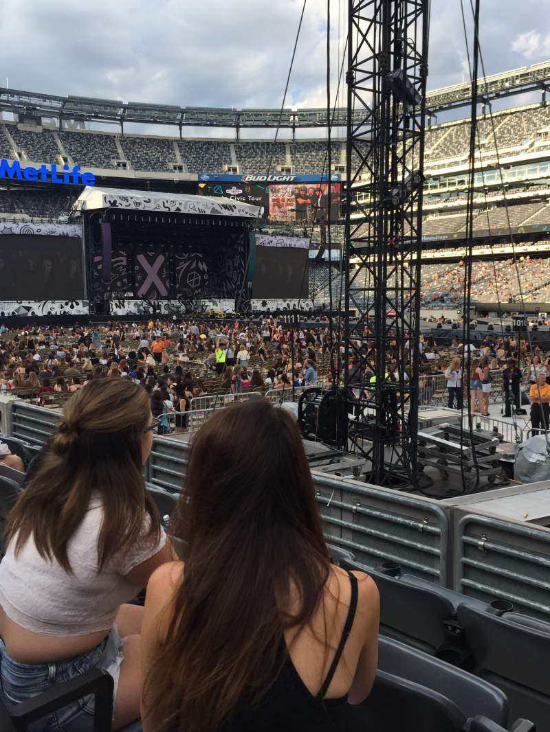 Seating view for MetLife Stadium Section 134 Row 4 Seat 4