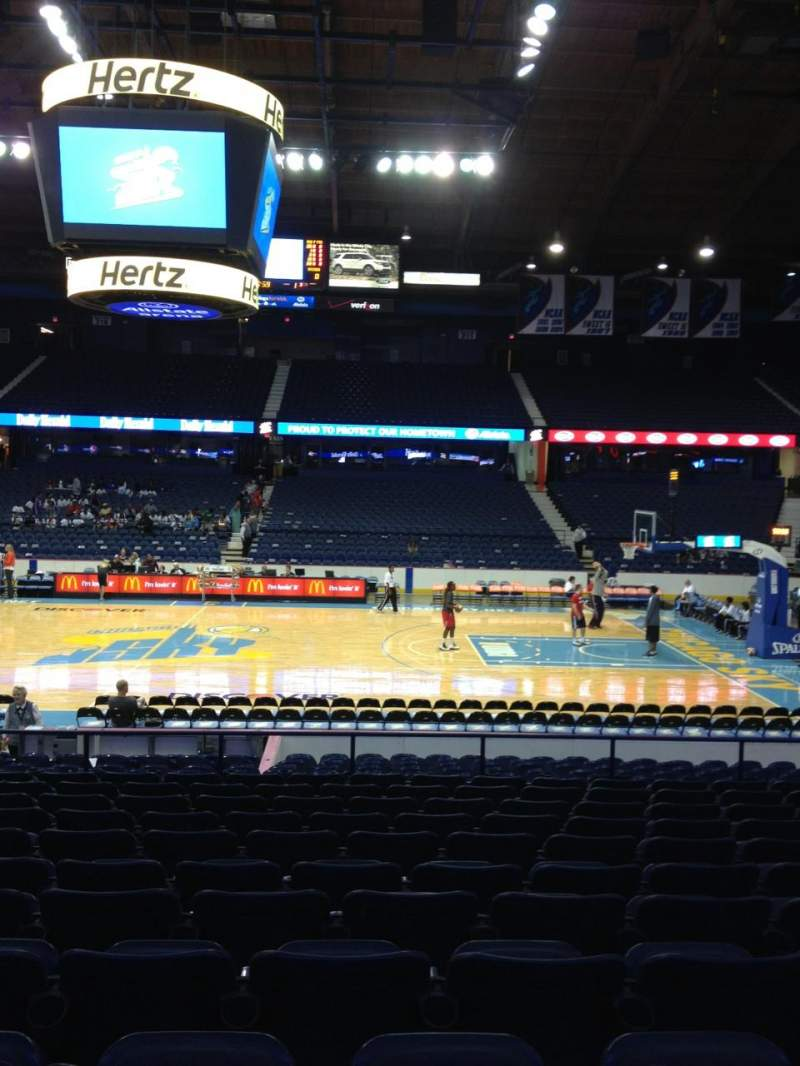 Seating view for Allstate Arena Section 102 Row M Seat 19