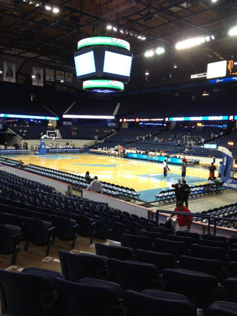 Seating view for Allstate Arena Section 116 Row J Seat 22