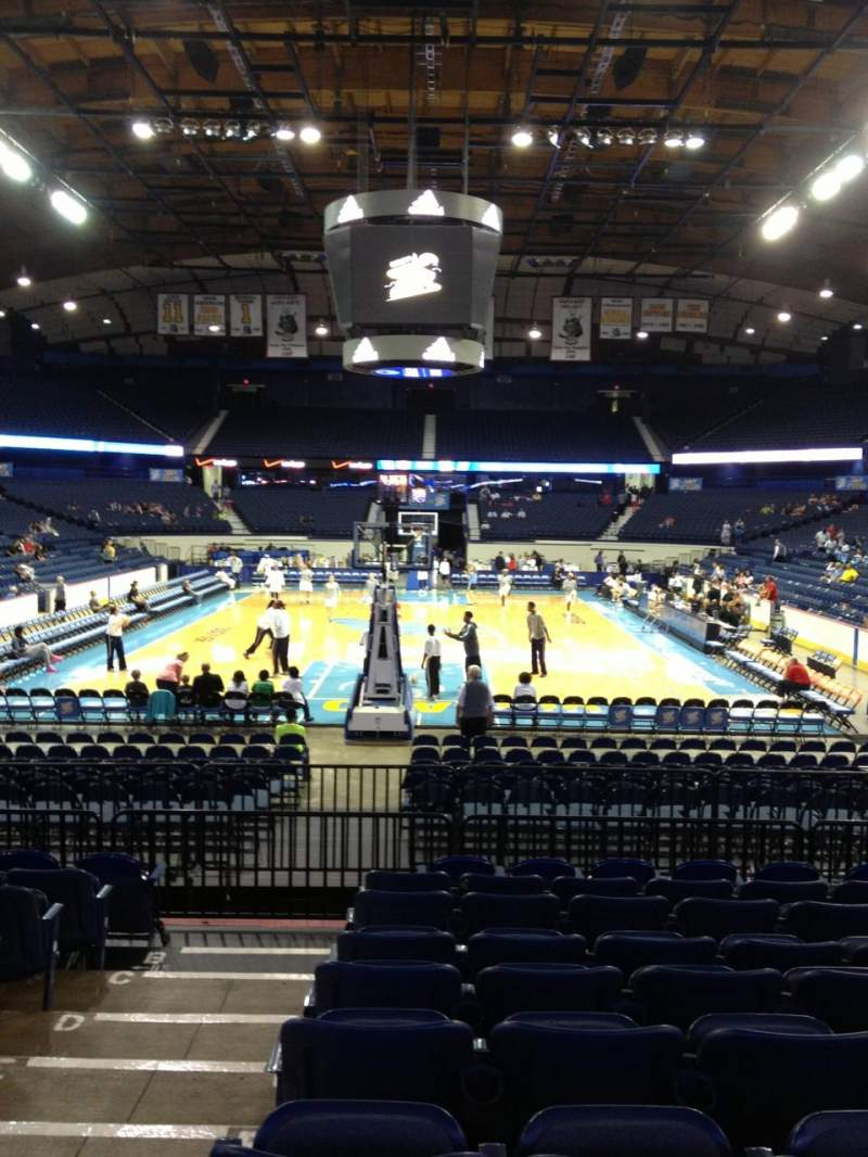 Allstate Arena, section 114, home of DePaul Blue Demons ...