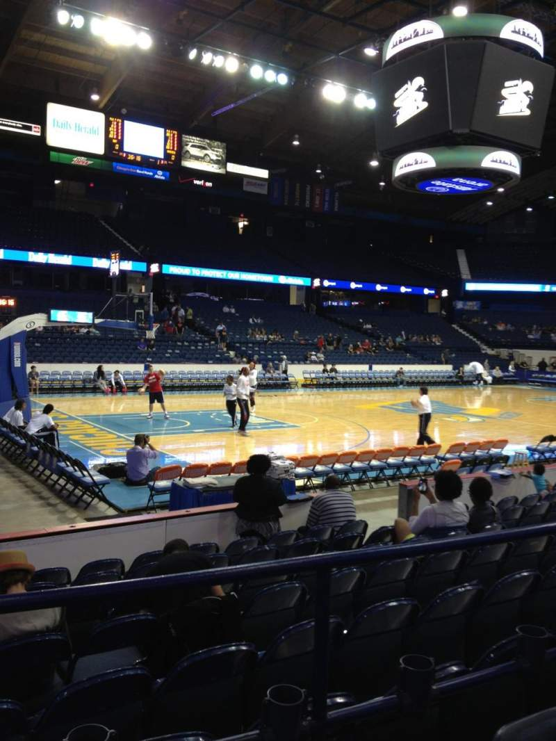 Allstate Arena, section 112, row C, seat 12 - Chicago Sky ...
