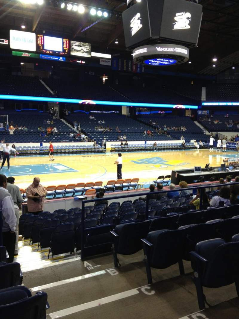 Seating view for Allstate Arena Section 112 Row F Seat 2