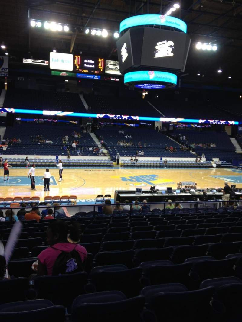 Seating view for Allstate Arena Section 111 Row N Seat 21