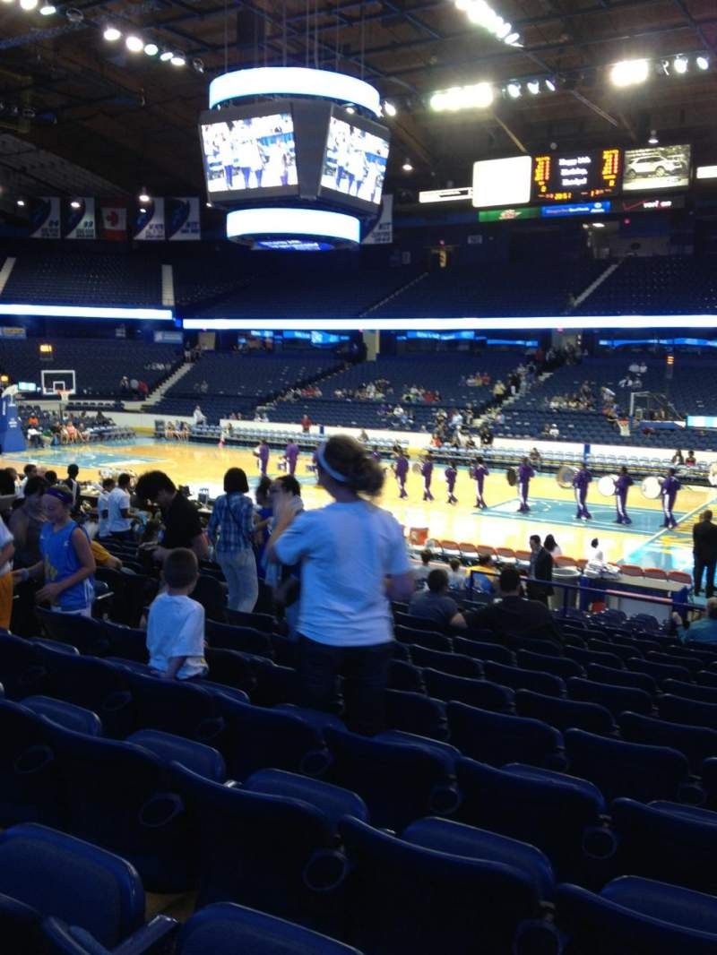 Seating view for Allstate Arena Section 109 Row N Seat 18