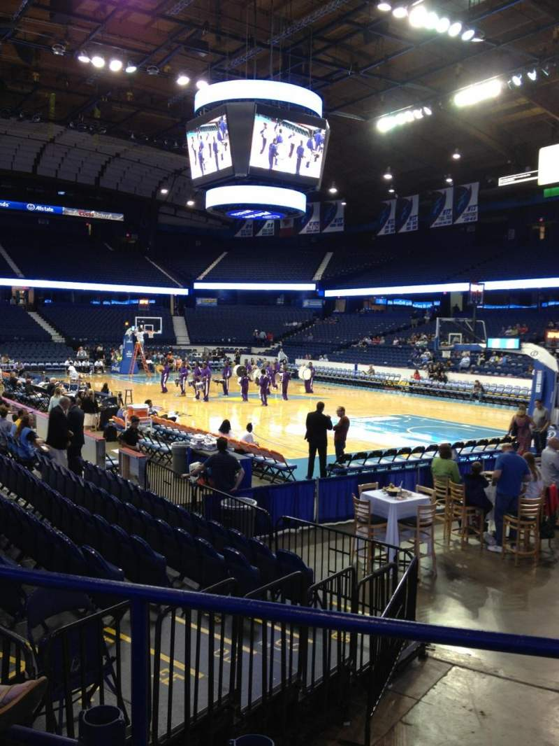 Seating view for Allstate Arena Section 108 Row F Seat 15