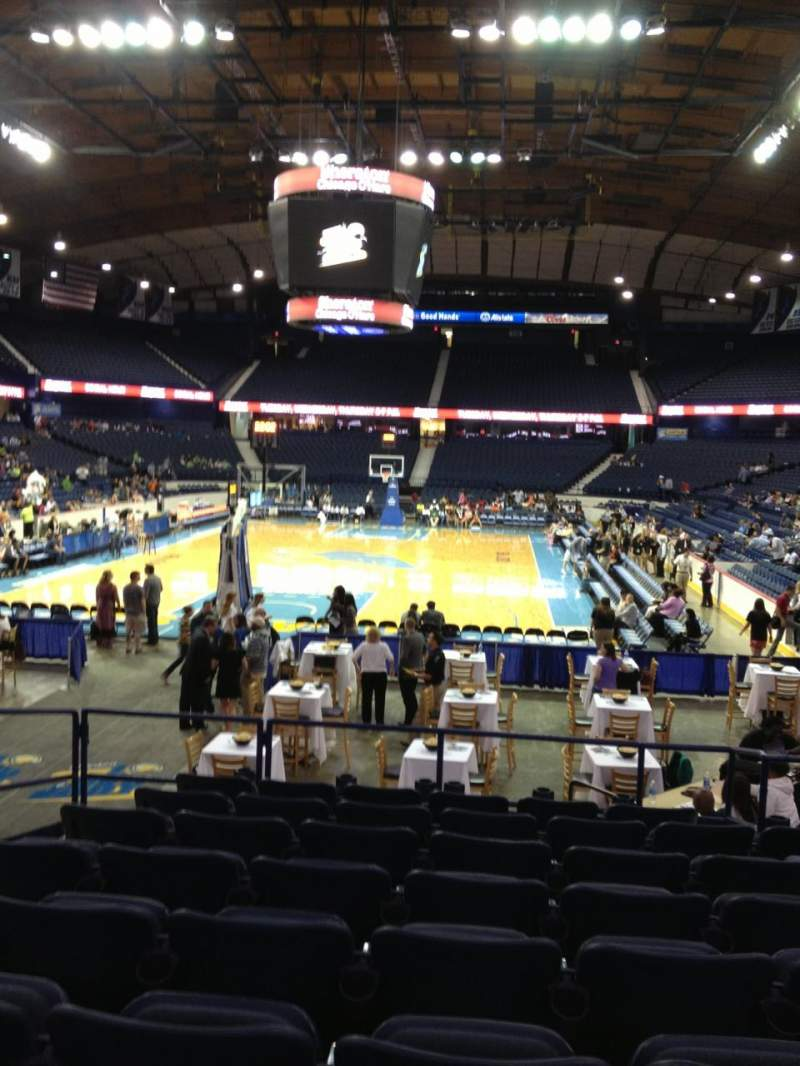 Seating view for Allstate Arena Section 106 Row L Seat 15