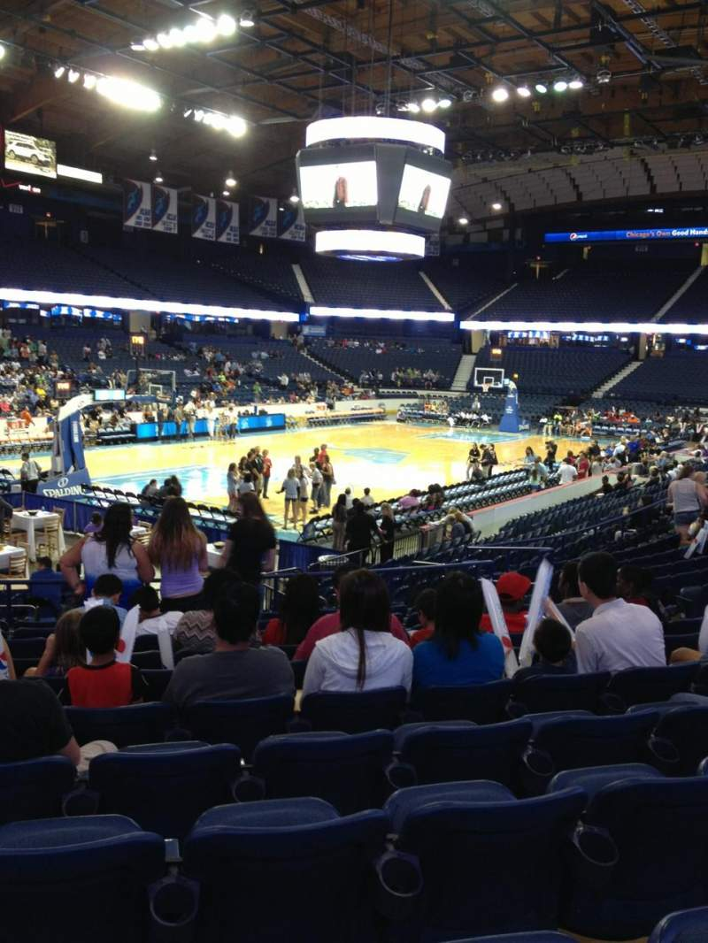 Seating view for Allstate Arena Section 105 Row L Seat 11