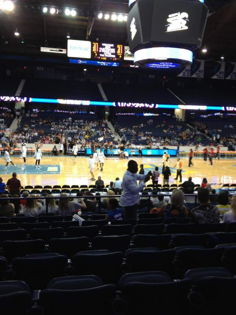 Seating view for Allstate Arena Section 103 Row J Seat 17