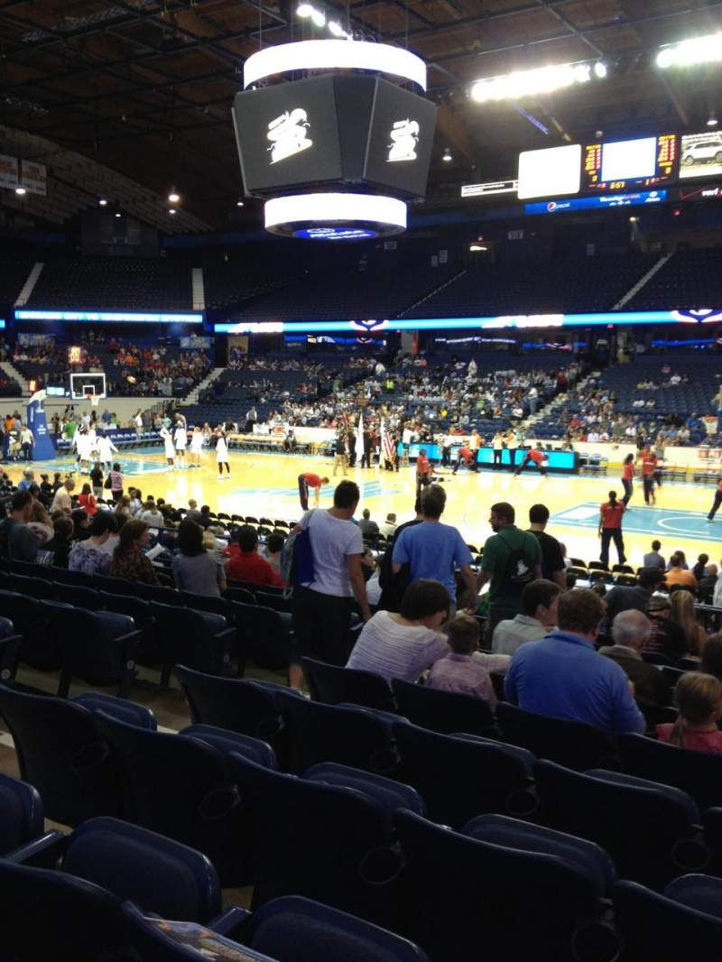 Seating view for Allstate Arena Section 101 Row L Seat 19