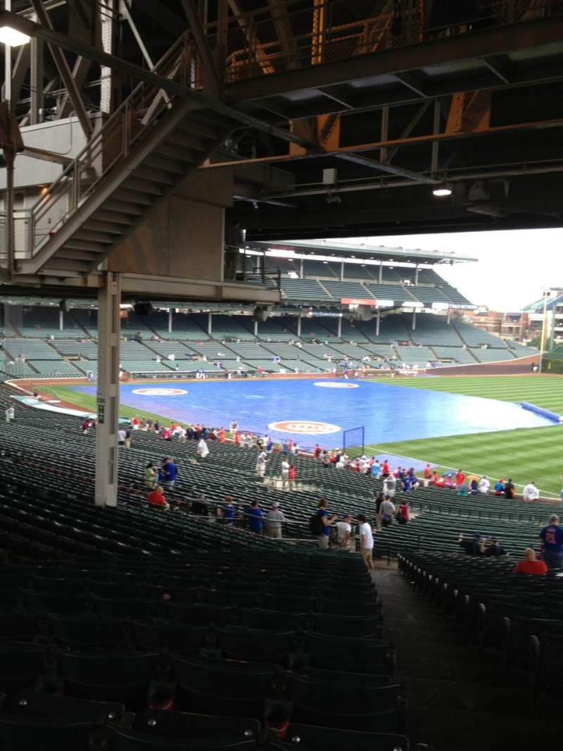 Seating view for Wrigley Field Section 237 Row 23 Seat 101