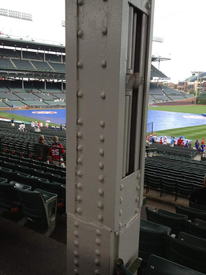 Seating view for Wrigley Field Section 236 Row 8 Seat 3