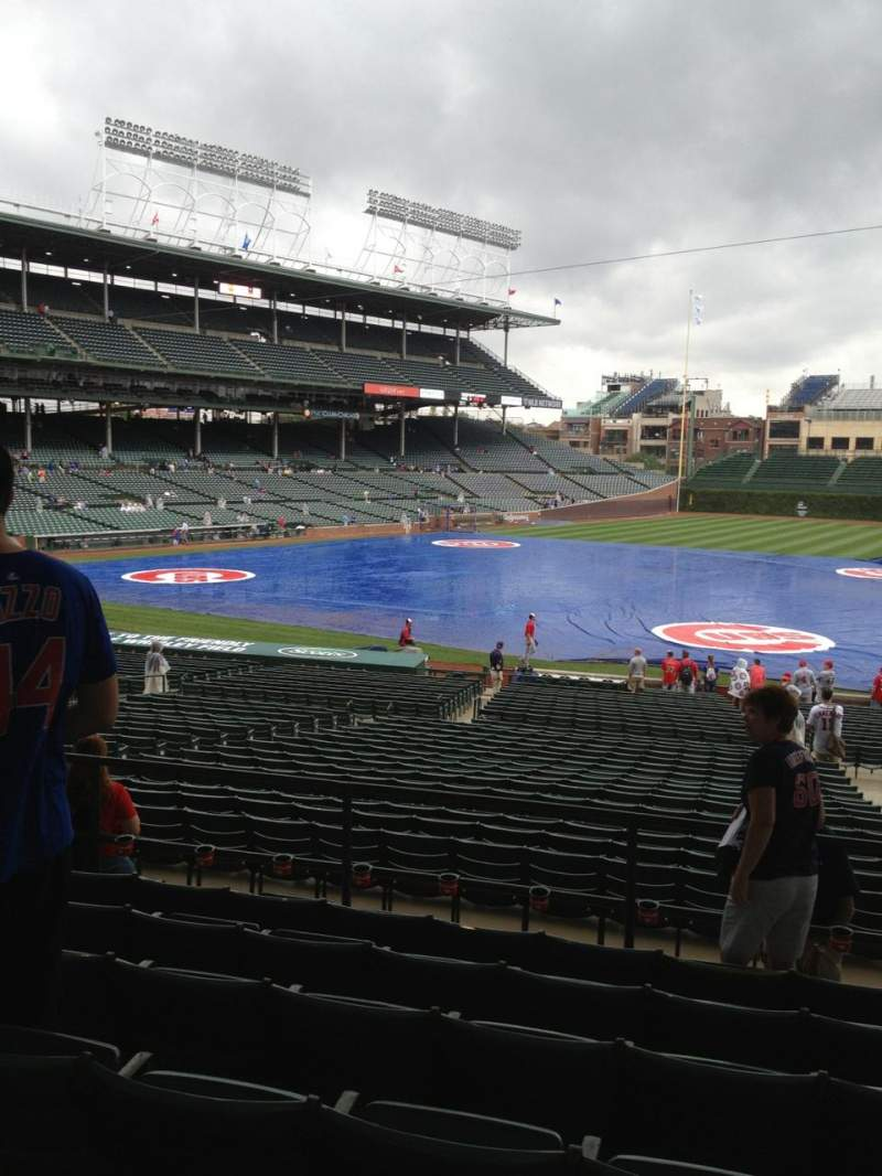 Seating view for Wrigley Field Section 233 Row 7 Seat 104