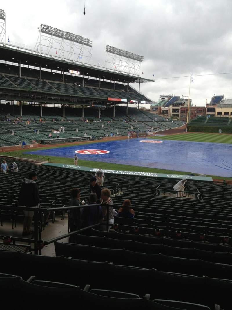 Seating view for Wrigley Field Section 231 Row 8 Seat 107