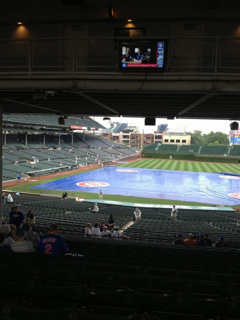 Seating view for Wrigley Field Section 228 Row 19 Seat 112