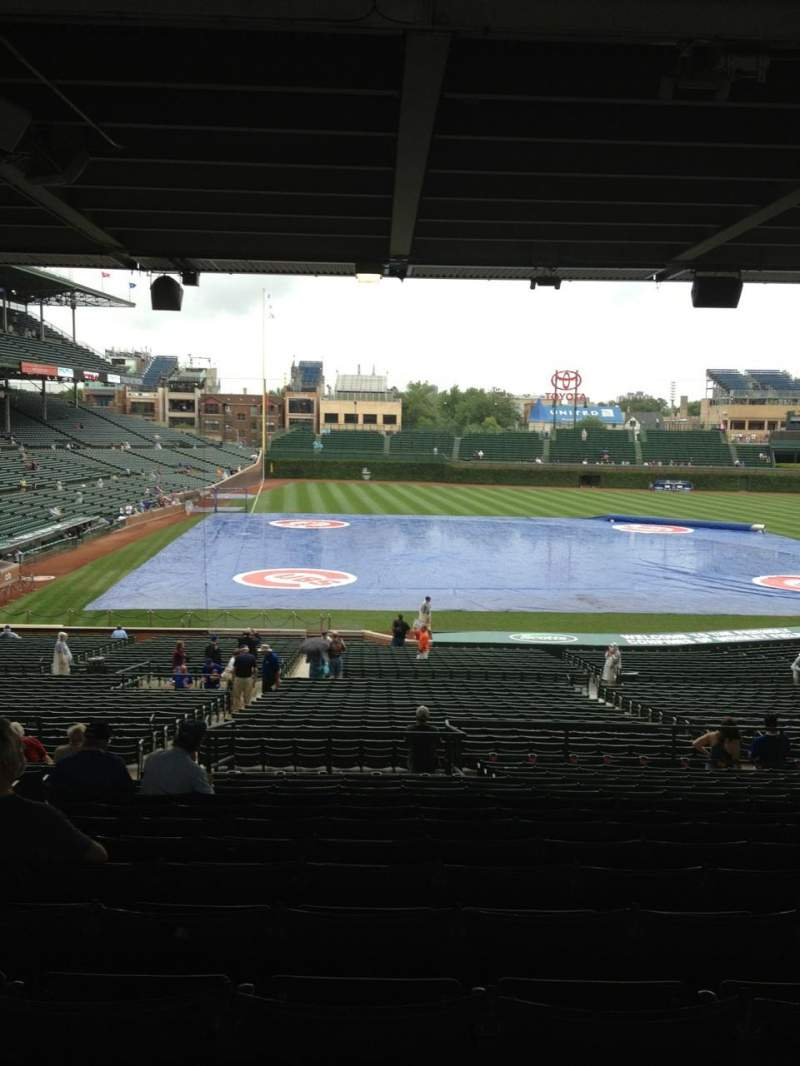 Seating view for Wrigley Field Section 226 Row 16 Seat 5