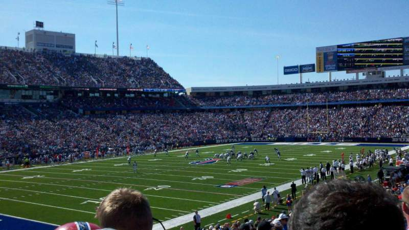Seating view for New Era Field Section 117 Row 29
