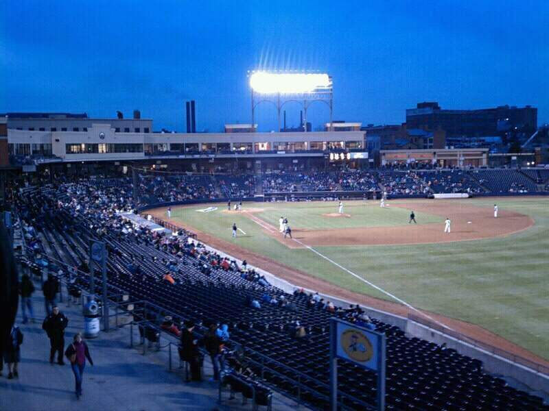 Seating view for Canal Park