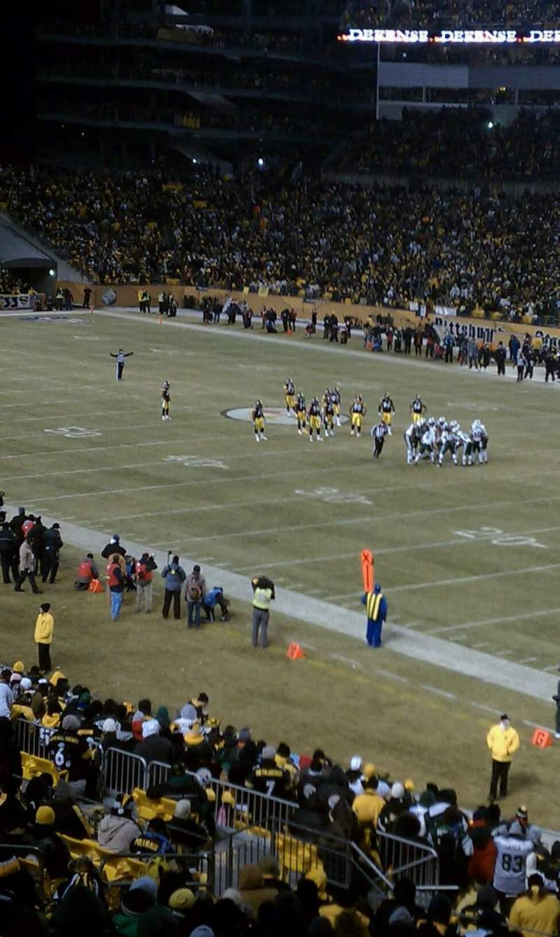 Seating view for Heinz Field Section 217 Row C Seat 11
