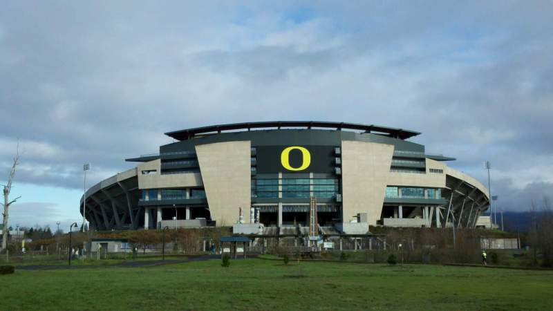 Seating view for Autzen Stadium