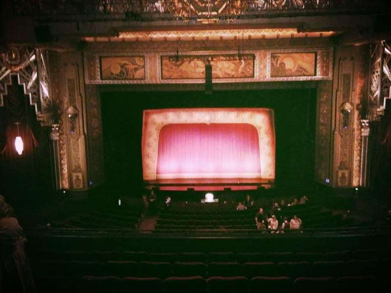 Seating view for Hollywood Pantages Theatre Section Mezzanine C Row H Seat 107