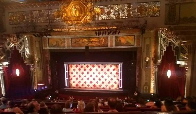 Pantages Theatre (Hollywood), section: Mezz Center Right, row: K , seat: 207