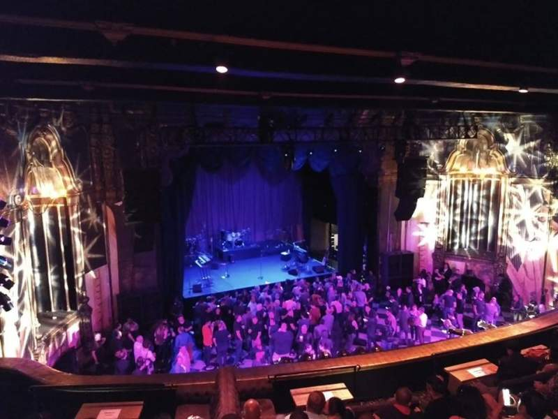 Seating view for The Fonda Theatre  Section BALC Row GA Seat Left Side