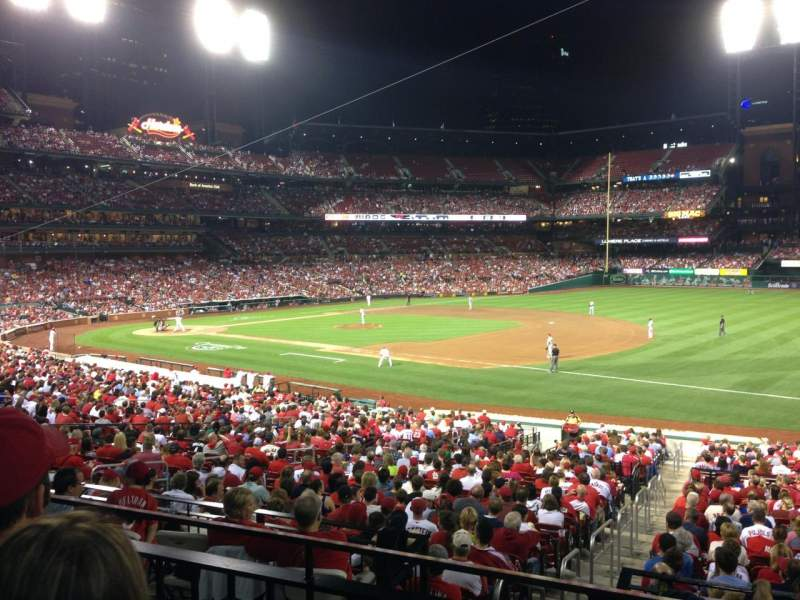 Seating view for Busch Stadium Section 139 Row 22 Seat 19