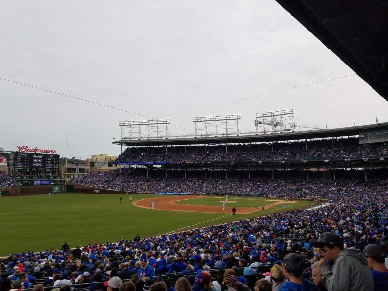 Seating view for Wrigley Field Section 204 Row 10 Seat 14