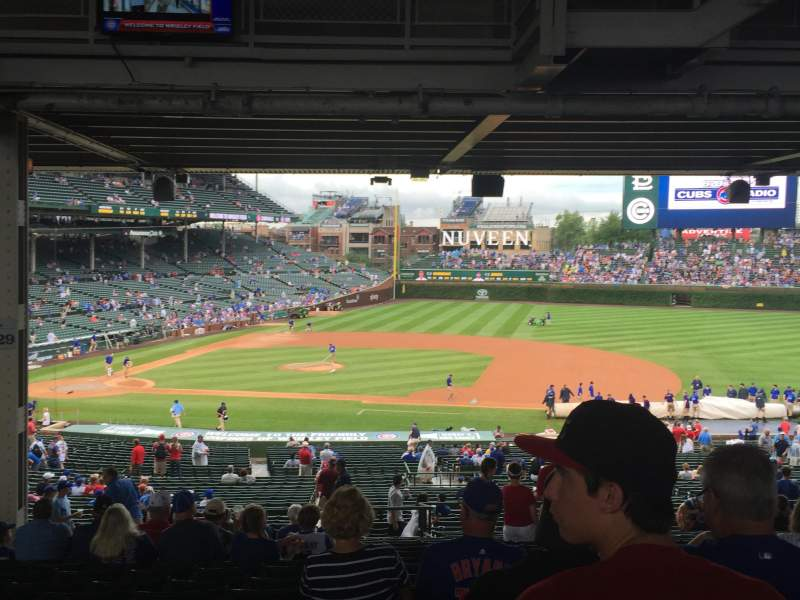 Seating view for Wrigley Field Section 229 Row 19 Seat 10