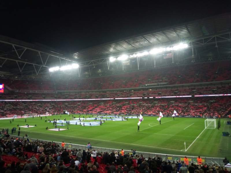 Seating view for Wembley Stadium Section Away Row X Seat 17