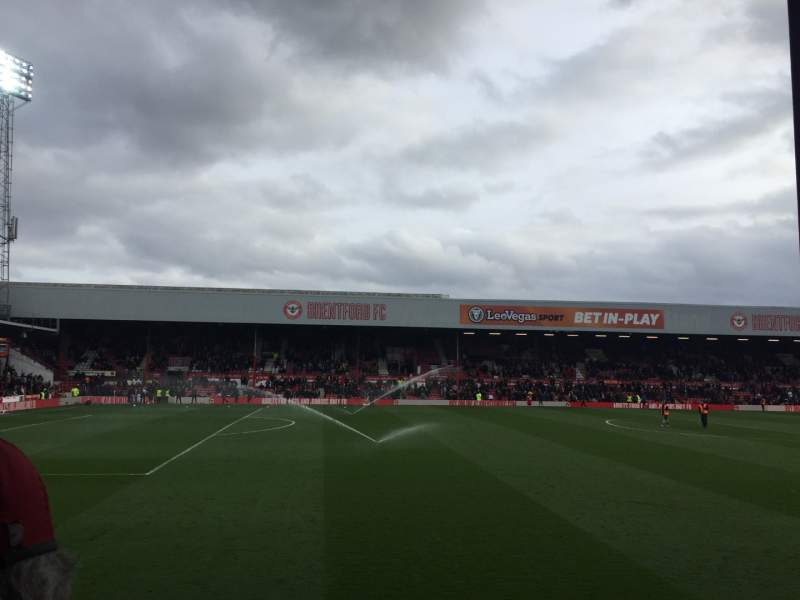 Seating view for Griffin Park Section N506 Row J Seat 171