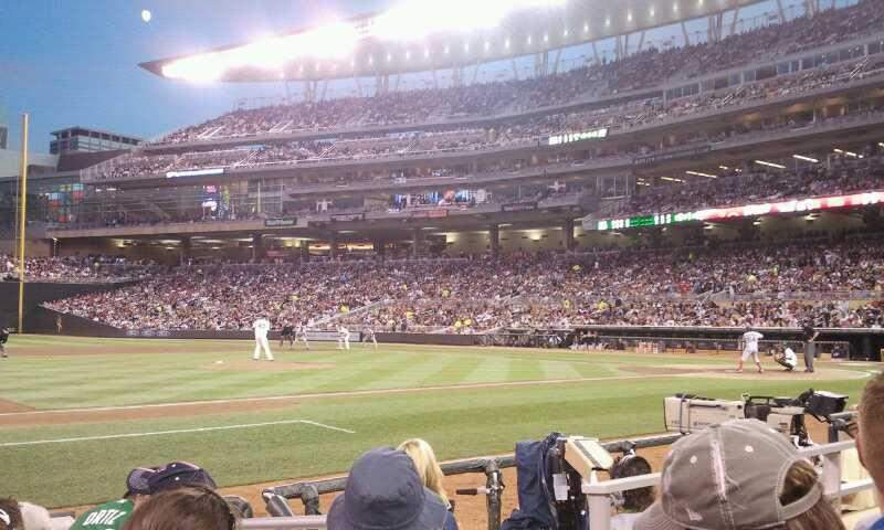 Seating view for Target Field Section 14 Row 6 Seat 6