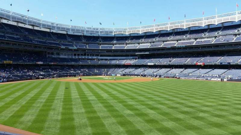 Seating view for Yankee Stadium Section 201 Row 1
